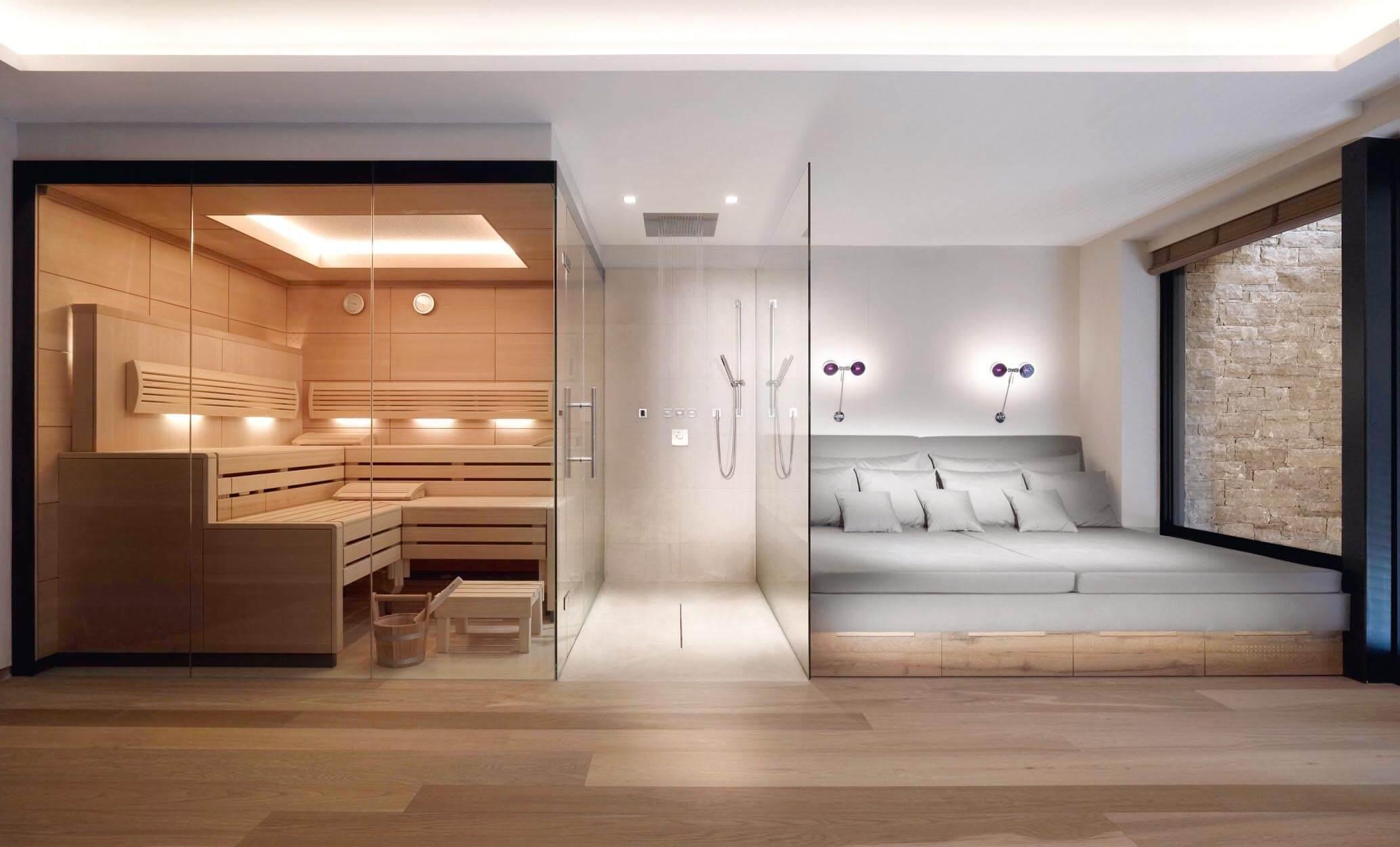 wellnessbereich hauschild geb udetechnik badarchitektur. Black Bedroom Furniture Sets. Home Design Ideas