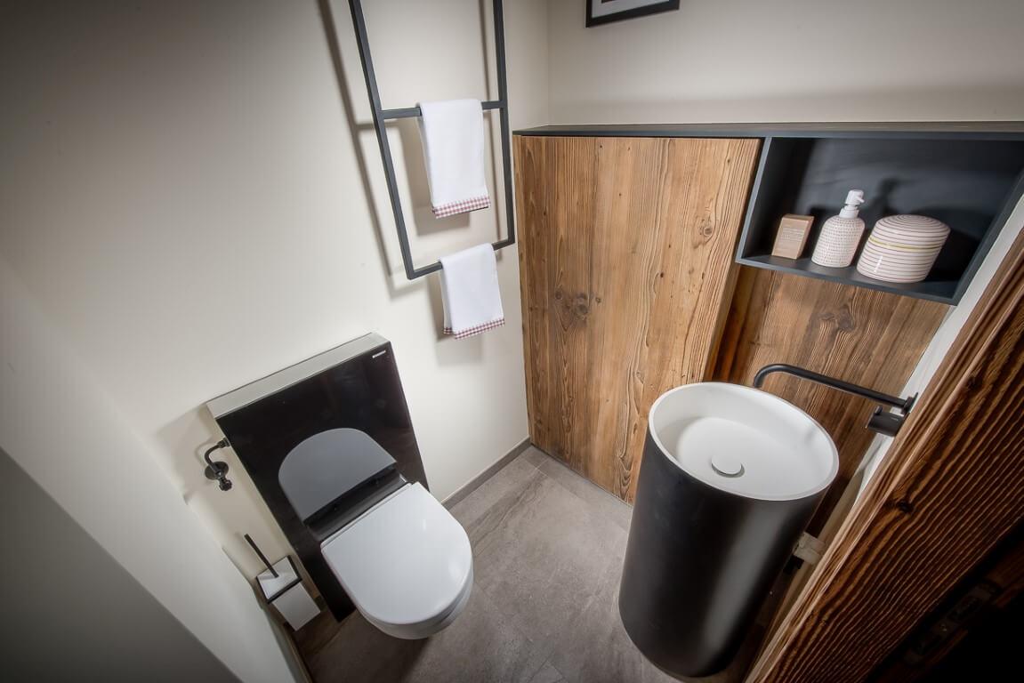 Fertigstellung Gäste-WC