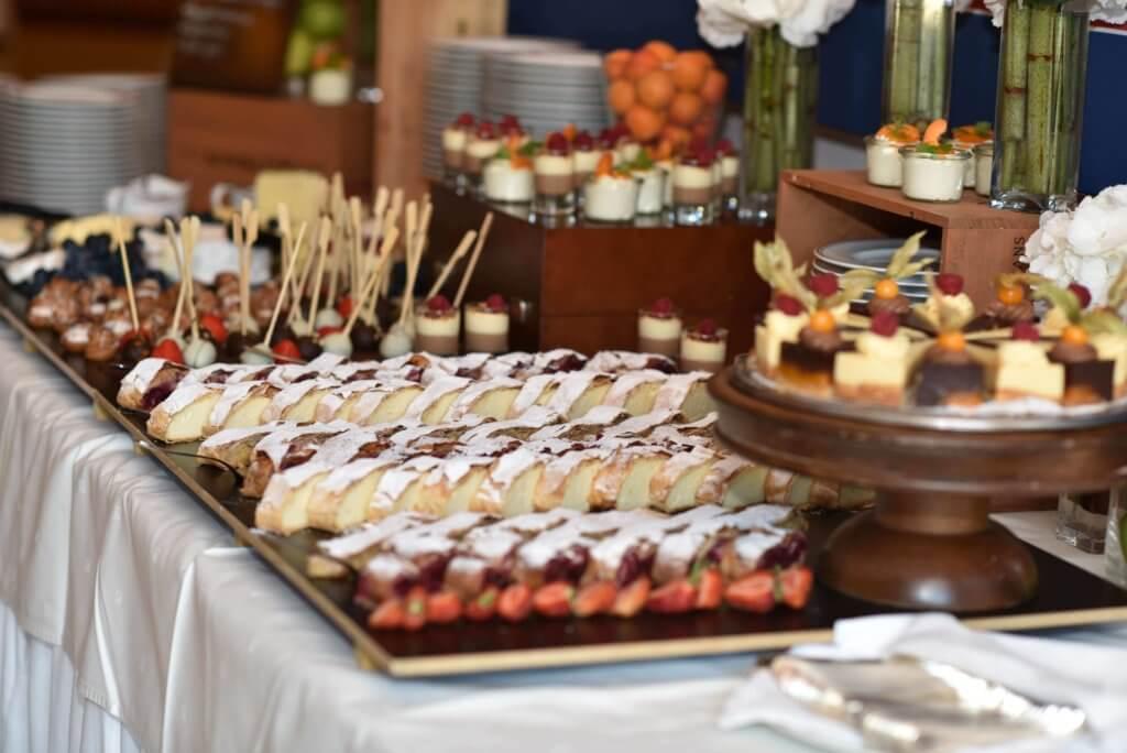 Hauschild 50-Jahre-Feier Buffet / Essen