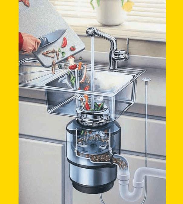 Fakten zu Küchenabfall-Zerkleinerer